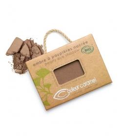 Ombre à paupières nacrée BIO N°067 Chocolat cuivré – 2,5g – Couleur Caramel