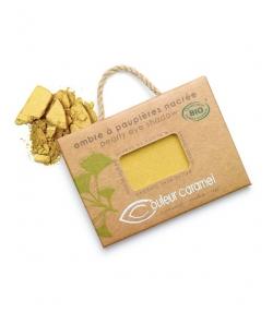 BIO-Lidschatten perlmutt N°109 Golden Blatt – 2,5g – Couleur Caramel