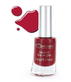 Vernis à ongles mat N°08 Rouge – 8ml – Couleur Caramel