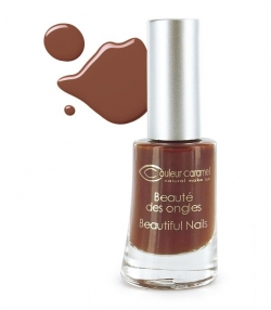 Vernis à ongles mat N°10 Chocolat – 8ml – Couleur Caramel
