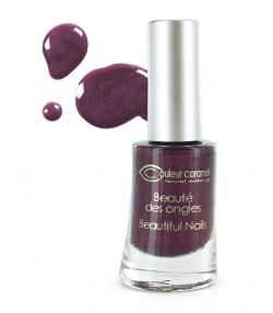 Vernis à ongles nacré N°15 Prune – 8ml – Couleur Caramel