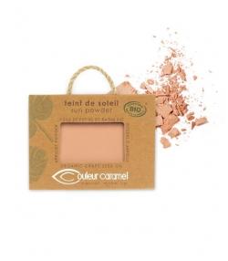 BIO-Sonnenteint perlmutt N°23 Beige Braun – 7g – Couleur Caramel