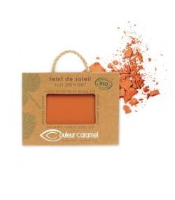 Teint de soleil nacré BIO N°25 Orangé – 7g – Couleur Caramel