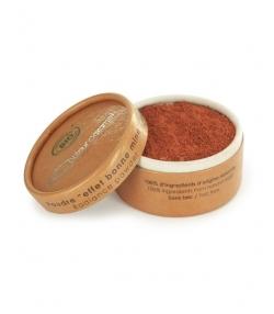 BIO-Puder Effekt Strahlender Teint – 6g – Couleur Caramel