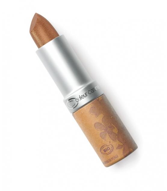 Rouge à lèvres nacré BIO N°236 Eclat de lumière – 3,5g – Couleur Caramel