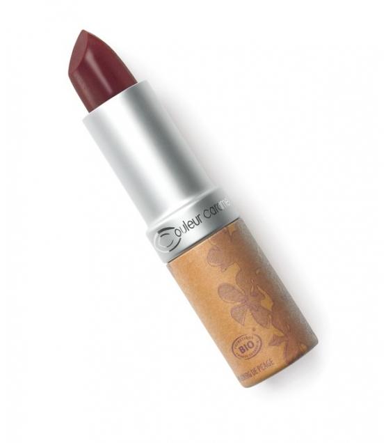 Rouge à lèvres nacré BIO N°240 Baiser volé – 3,5g – Couleur Caramel