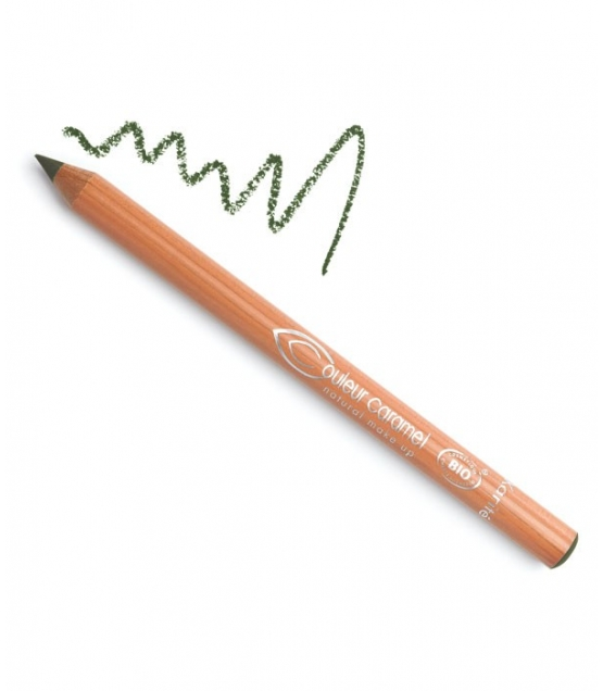 Crayon yeux mat BIO N°02 Vert – 1,2g – Couleur Caramel