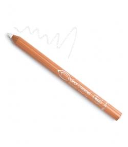 Crayon yeux mat BIO N°16 Blanc – 1,2g – Couleur Caramel