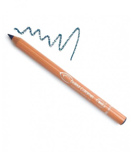 Crayon yeux mat BIO N°36 Bleu canard – 1,2g – Couleur Caramel