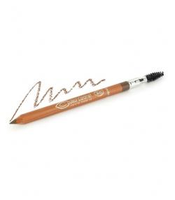 Crayon sourcils BIO N°121 Châtain – 1,2g – Couleur Caramel