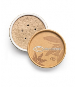 Fond de teint poudre BIO N°01 Beige clair – 6g – Couleur Caramel