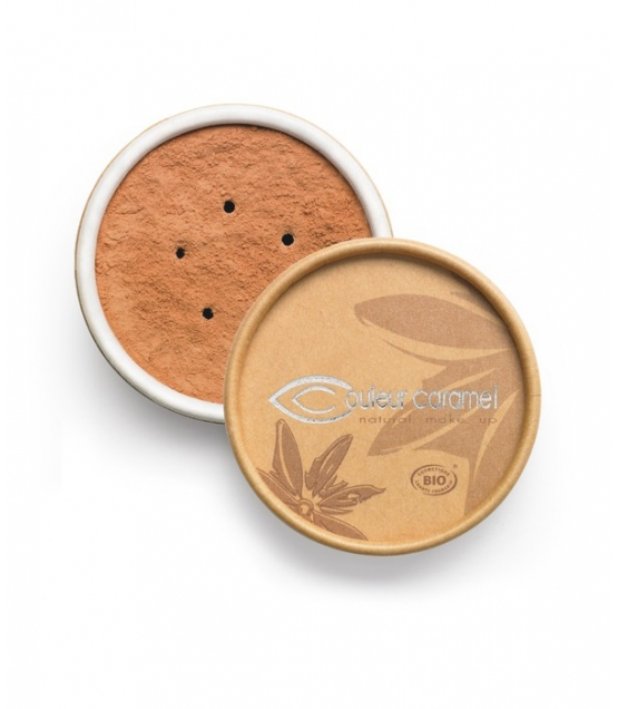 BIO-Make-up-Puder N°04 Beige gebräunt – 6g – Couleur Caramel