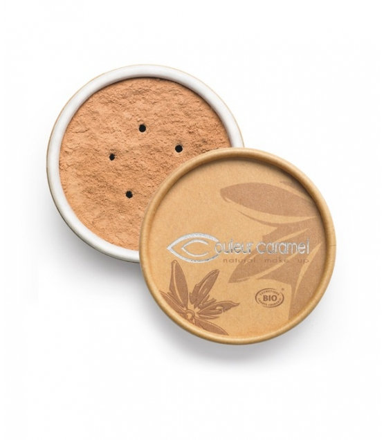 BIO-Make-up-Puder N°06 Hell Braun – 6g – Couleur Caramel