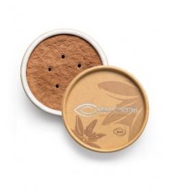 Fond de teint poudre BIO N°08 Brun ocre – 6g – Couleur Caramel