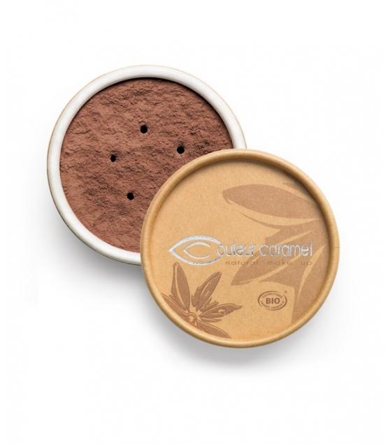 BIO-Make-up-Puder N°09 Dunkel Braun – 6g – Couleur Caramel