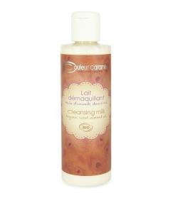 Lait démaquillant BIO amande peau normale & sèche – 200ml – Couleur Caramel