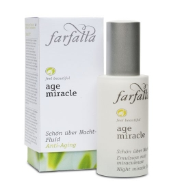 Emulsion nuit miraculeuse BIO cresson – 30ml – Farfalla Age Miracle