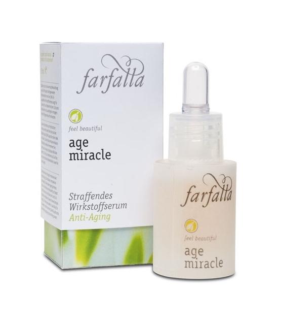 Serum lifting ultra-riche BIO cresson – 15ml – Farfalla Age Miracle
