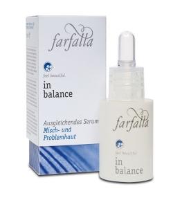 Serum équilibrant BIO lin – 15ml – Farfalla In Balance