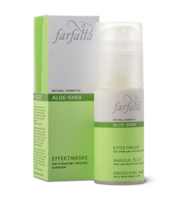Masque éclat BIO aloe vera – 50ml – Farfalla Aloe Shea