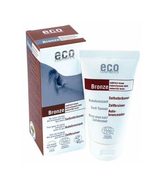 BIO-Selbstbräuner Gesicht & Körper Granatapfel - 75ml - Eco Cosmetics