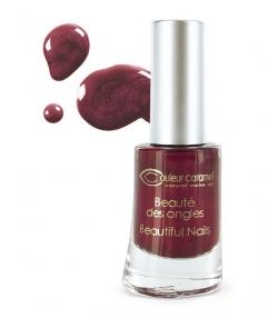 Vernis à ongles nacré N°09 Bordeaux – 8ml – Couleur Caramel
