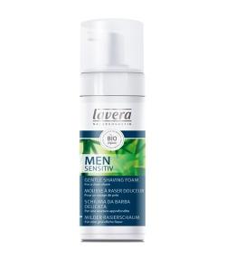 Milder BIO-Rasierschaum Bambus & Aloe Vera für Männer – 150ml – Lavera Men Sensitiv