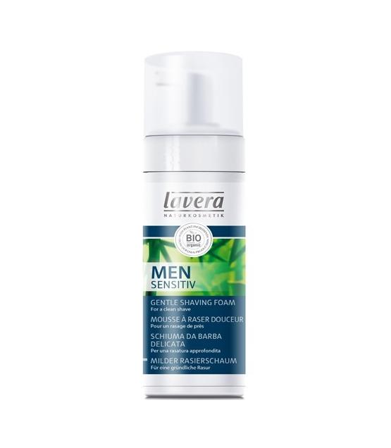 Mousse à raser douceur homme BIO bambou & aloe vera - 150ml - Lavera Men Sensitiv