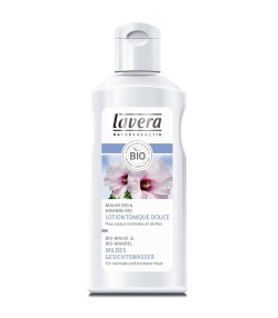 Lotion tonique douce BIO mauve & amande – 125ml – Lavera Faces