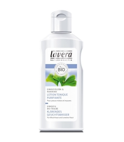Lotion tonique purifiante BIO ginkgo biloba & raisin – 125ml – Lavera Faces