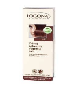 Crème colorante végétale BIO 230 teck - 150ml - Logona