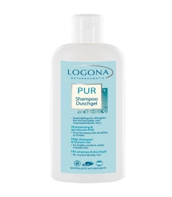 BIO-Shampoo & Duschgel ohne Parfüm – 250ml – Logona PUR