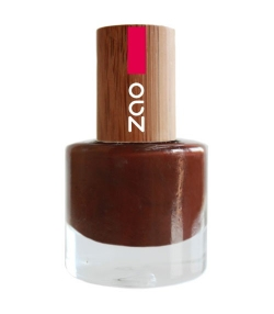 Vernis à ongles brillant N°645 Cacao – 8ml – Zao Make-up