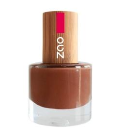 Nagellack glänzend N°646 Haselnuss – 8ml – Zao Make-up