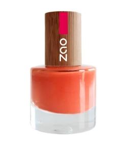 Nagellack glanz N°647 Rostrot – 8ml – Zao Make-up