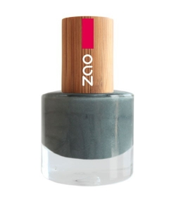 Vernis à ongles brillant N°649 Gris – 8ml – Zao Make-up
