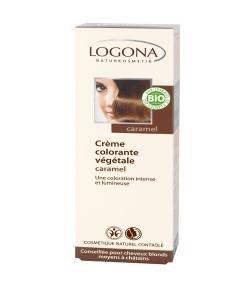 BIO-Pflanzen-Haarfarbe Creme 240 Nougat Braun - 150ml - Logona