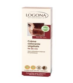 Crème colorante végétale BIO 220 lie de vin - 150ml - Logona