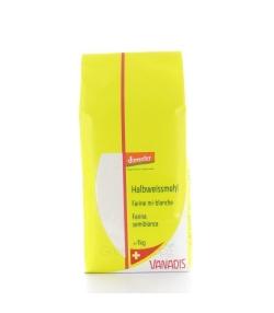 BIO-Halbweissmehl – 1kg – Vanadis