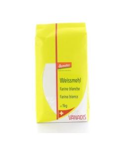 Farine blanche BIO – 1kg – Vanadis