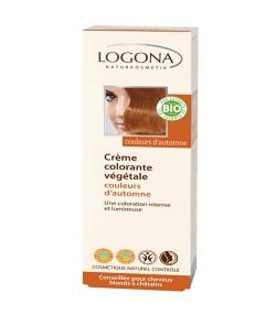 BIO-Pflanzen-Haarfarbe Creme 210 Indian Summer - 150ml - Logona