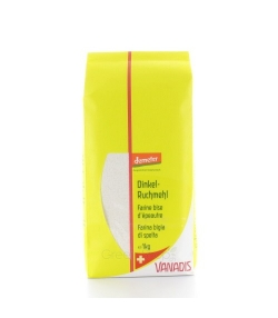 Farine bise d'épeautre BIO – 1kg – Vanadis