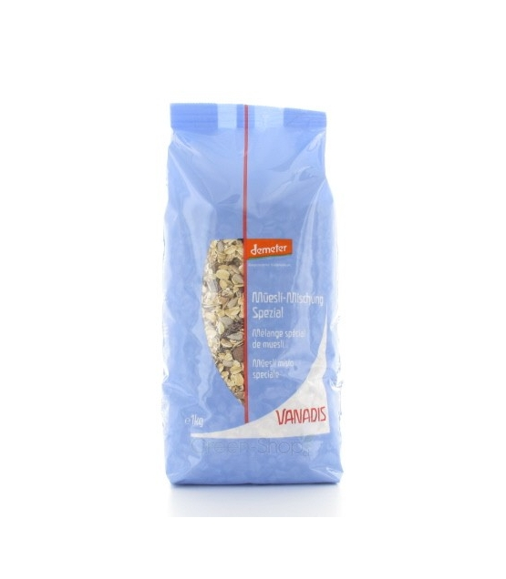 BIO-Müesli-Mischung Spezial - 1kg - Vanadis