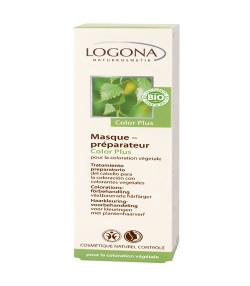 Masque préparateur BIO avant coloration Color Plus - 150ml - Logona
