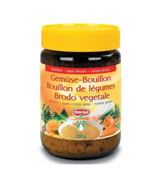 Bouillon de légumes sans levure & sans corps gras BIO - 200g - Morga