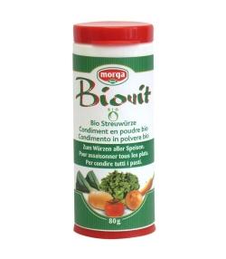 Biovit condiment en poudre BIO – 80g – Morga
