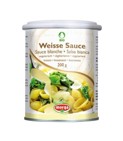 Sauce blanche BIO – 200g – Morga
