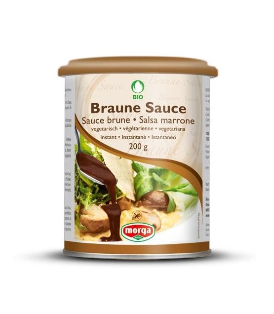 Sauce brune BIO - 200g - Morga