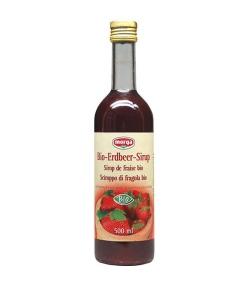 BIO-Erdbeer-Sirup – 500ml – Morga