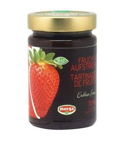 BIO-Fruchtaufstrich mit Erdbeer – 350g – Morga